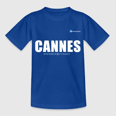 Cannes white - Teenage T-Shirt