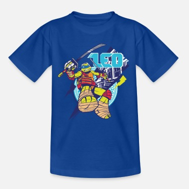 TMNT Turtles Leo With Katana - Teenage T-Shirt