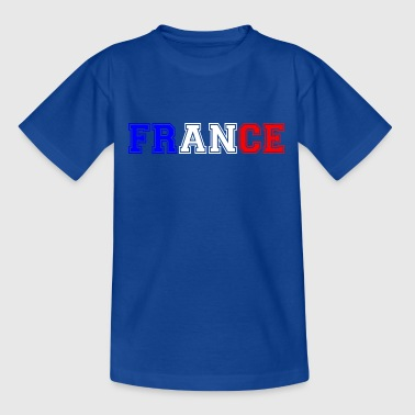 France tricolore Heavy - T-shirt Ado