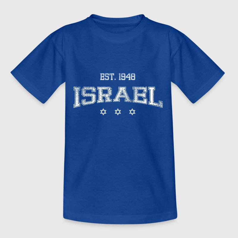 ISRAEL-white - Teenage T-shirt