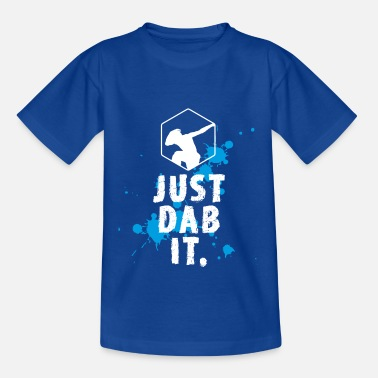 Humour Football dab tamponnant éclaboussure touché juste tamponner coo fun - T-shirt Ado