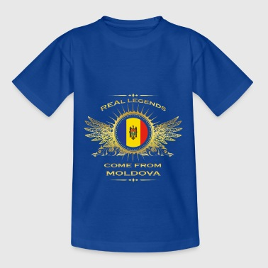 Legends born gift home in MOLDOVA - Teenage T-Shirt