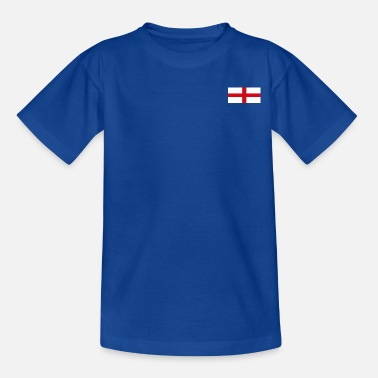 England Logo England Flag Logo - Teenage T-Shirt