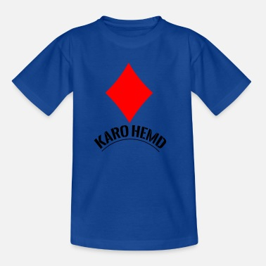 Karohemd - Teenager T-Shirt