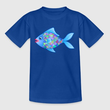 Fatty der Fisch - Teenager T-Shirt