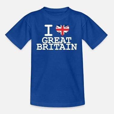 Britain i love Great Britain - Teenage T-Shirt