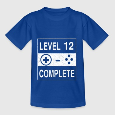 Level 12 Complete - Teenager T-shirt