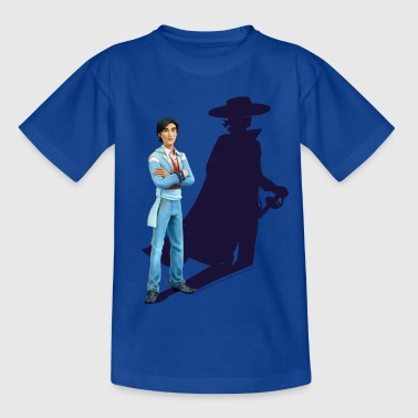 Zorro The Chronicles Don Diego Shadow - Teenager T-shirt