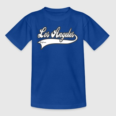 los angeles california - Camiseta adolescente