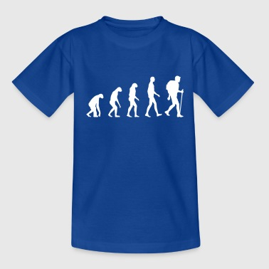 Evolution hiking - Teenage T-Shirt