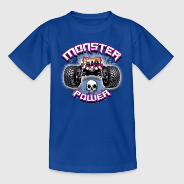 11A-03 POWER MONSTER TRUCK - Teenager-T-shirt