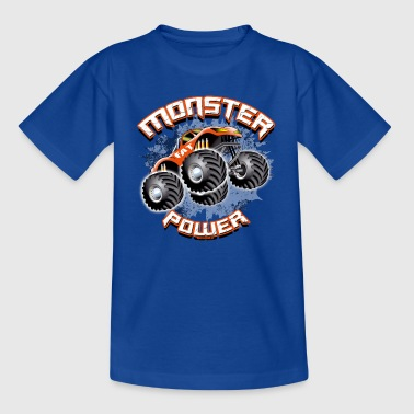 11A-02 STRÖM MONSTER TRUCK - FAT WHEEL - T-shirt tonåring