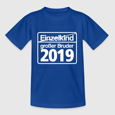 grosser Bruder 2019 Schild - Teenager T-Shirt