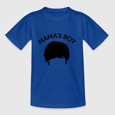 The Big Bang Theory Mama's Boy T-skjorte for ten - T-skjorte for tenåringer