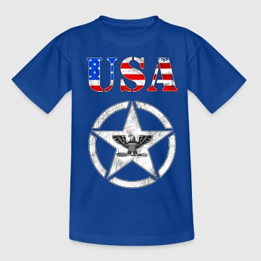 usa army grunge style - Teenage T-shirt