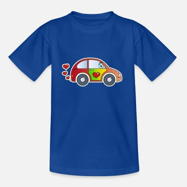 Kids Cheer Kids car toy car heart colorful cheerful children - Teenage T-Shirt