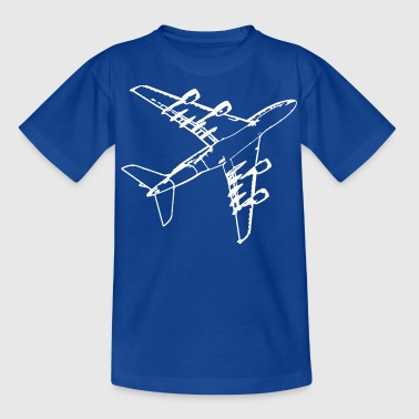 Flugzeug - Teenager T-Shirt