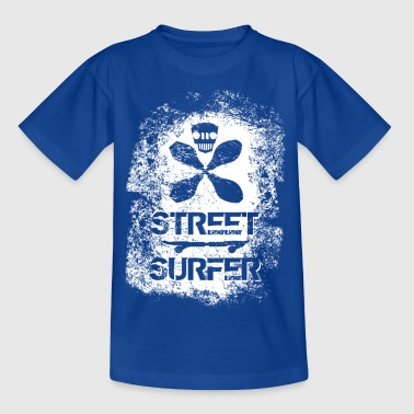 Streetsurfer - Waveboarder - Teenager T-Shirt