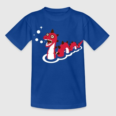 Sea Monster sea monster - Teenage T-Shirt