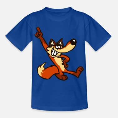 Fuchs Cartoon  Stolzierender Cartoon-Fuchs von Cheerful Madness!!  - Teenager T-Shirt