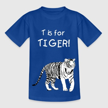 White Tiger - Teenage T-shirt