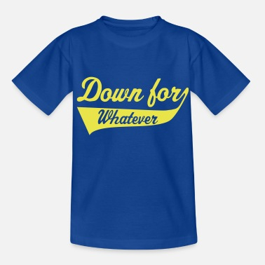 Music Chart Down For Whatever - Camiseta adolescente