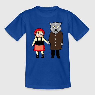 Little Red Riding Hood - Teenage T-Shirt