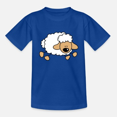 Gallop Galloping sheep - Teenage T-Shirt
