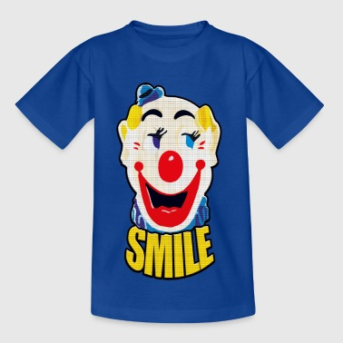 Keep Smiling - Camiseta adolescente
