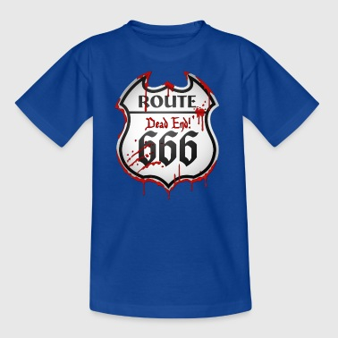 Route 666 (dd print) - Teenage T-shirt