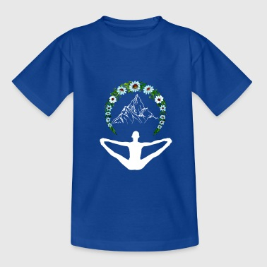 Yoga as enlightenment - Teenage T-Shirt