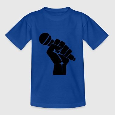 Fight for Music Freedom Rap - Teenage T-Shirt
