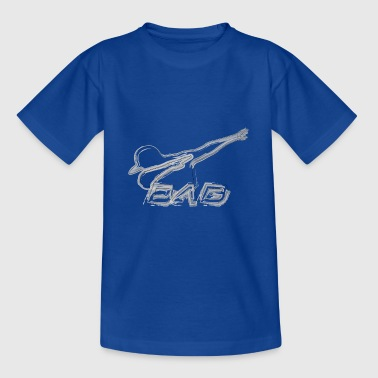 DAB brushed style - Teenager T-Shirt