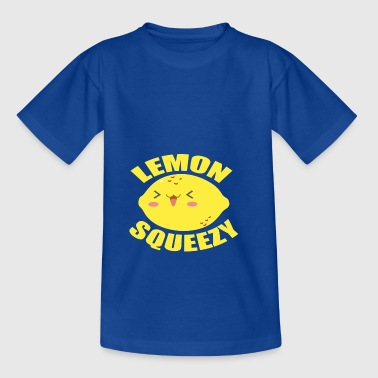 LEMON SQUEEZY - Citroner er GEIL - Teenager-T-shirt