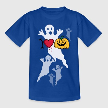I love Halloween - Teenager T-shirt