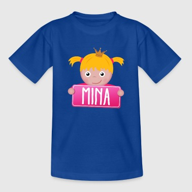 Mina Little Princess Mina - Teenager T-shirt