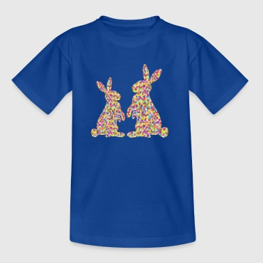 two easter bunnyies - Teenage T-shirt