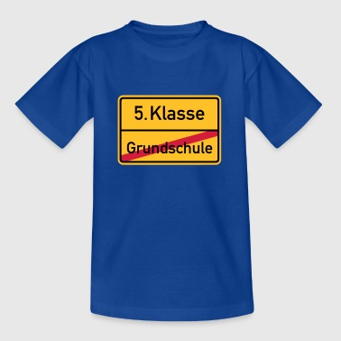 5. Klasse - Teenager T-Shirt