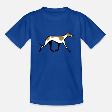Whippet Windhund Whippet - Teenager T-Shirt
