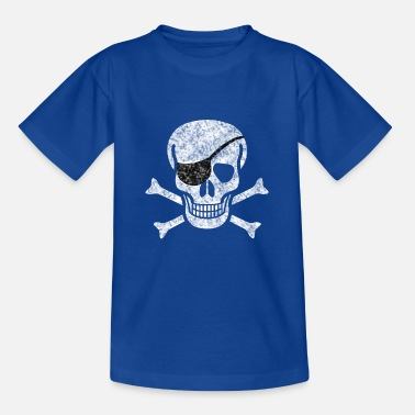 Piratenbraut Pirat Totenkopf - Teenager T-Shirt