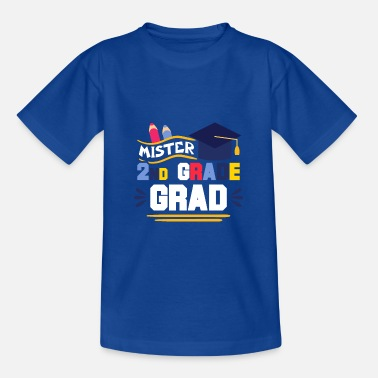 2nd Grade mister 2nd grade - Teenage T-Shirt