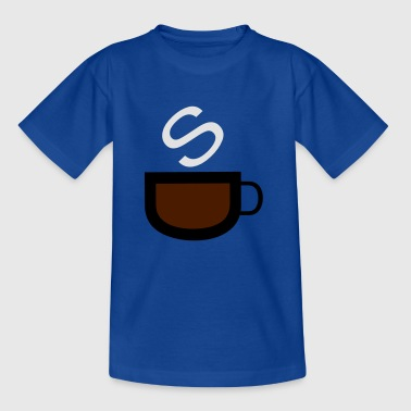Cafe Coffee Bistro kaka Kaffezeit Bar - T-shirt tonåring