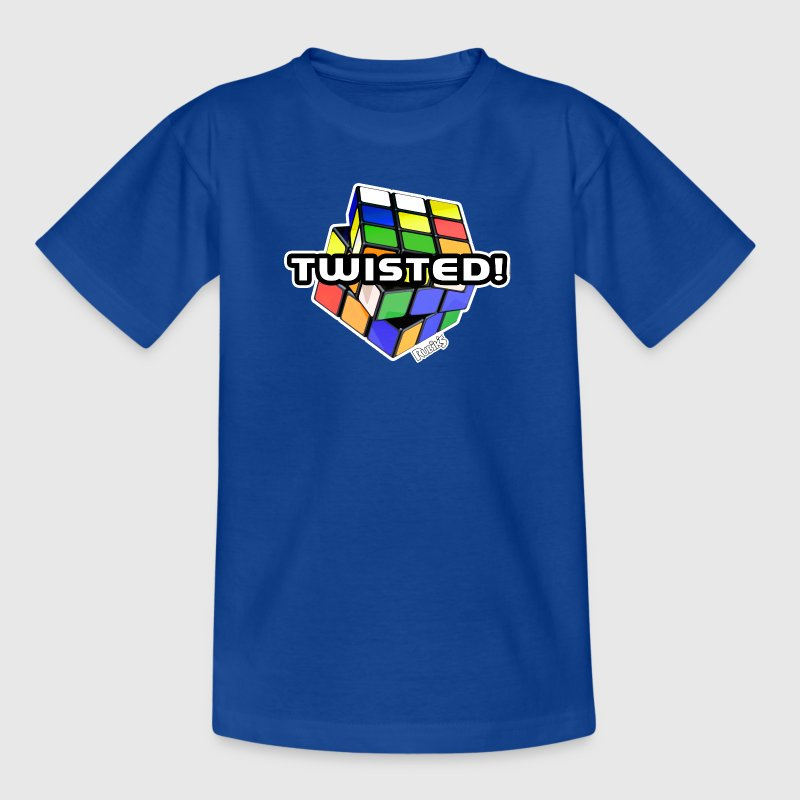 Rubik's Cube Twisted! - T-shirt Ado