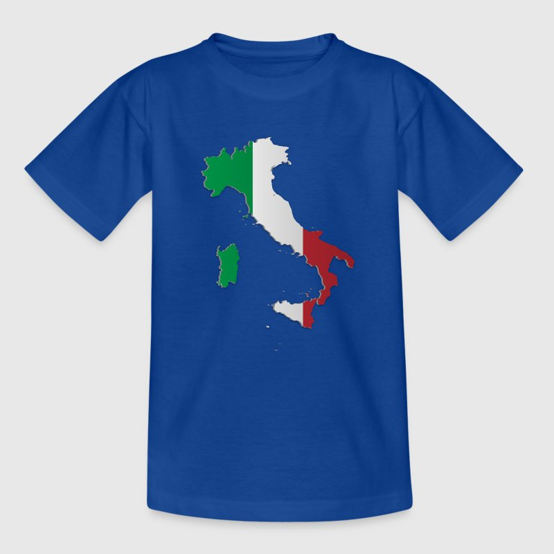 Map of Italy 3 - Teenage T-shirt