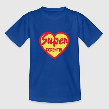 corentin super coeur heart love - T-shirt Ado