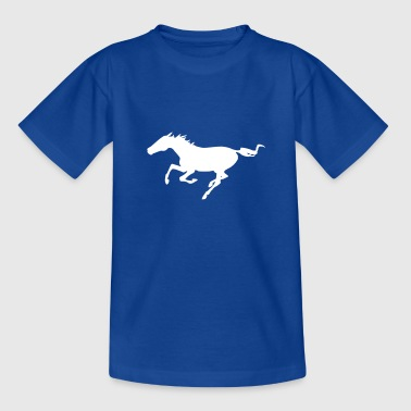 Pferd im Galopp - Teenager T-Shirt