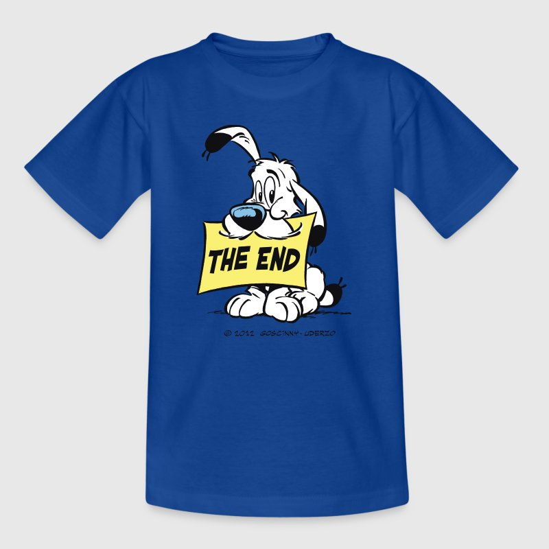 Asterix & Obelix - Idefix 'The End' Frauen T-Shirt - Teenager T-Shirt
