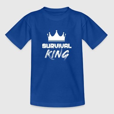 Survival Spruch - Teenager T-Shirt