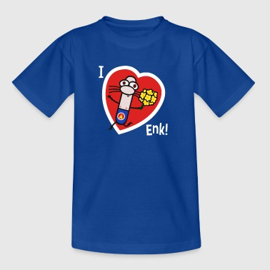 Adrenalini - I Love Enk! - Teenage T-shirt