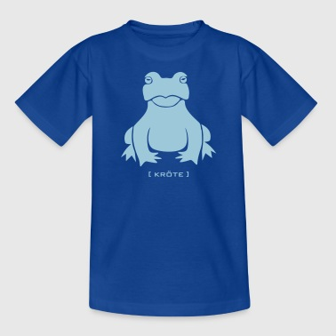 Frosch Unke Lurch Amphib kröte tier wild - Teenager T-Shirt
